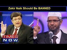 Arnab Goswami tight slap Dr. Zakir Naik