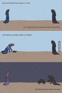 Even the problem of death and life is made in 2 , why does life depend on nr.2?