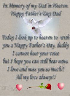 Happy Father's Day – To All the Dads And Dads in Heaven