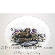 Natures Palette Pen and Ink ePacket - Wendy Fahey - PDF DOWNLOAD