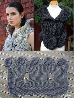 Chaleco Crochet …