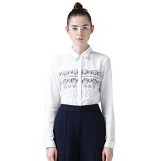 Toyouth 2015 Women Preppy Style Long Sleeve Blouses 100 Cotton Print Loose Blouse. Click visit to buy #Blouse #Shirt #BlouseShirt
