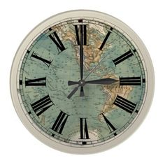 One of my favorite discoveries at worldmarket map clock with one of my favorite discoveries at worldmarket map clock with rope 10000 want pinterest discovery clocks and bedrooms gumiabroncs Images