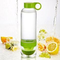 Portable Plastic Lemon Bottle#summer #lemon