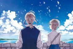 Hetalia: France and Jeanne d'Arc