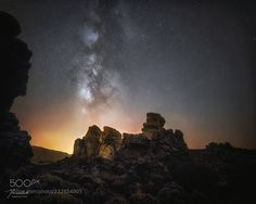 Roques de García  A shot from Roques de García in Teide national park Tenerife.  Unfortunately there was some Calima this night taking away much of the colors and details of the Milky Way. But still such a beautiful place.  Keep up to date with my latest photos on Facebook   or follow  my Instagram  Camera: Sony Alpha a7R II Lens: Samyang 14mm XP f2.5  Join the Milky Way Group http://ift.tt/2sf2DTT and share your Milky Way creations or findings with the world! Image credit…