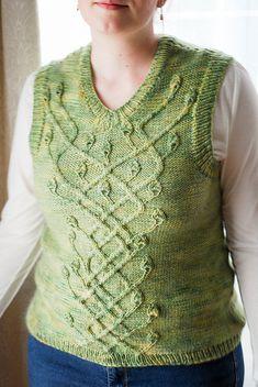 Ravelry: Hederalia Vest pattern by Alexis Hoy