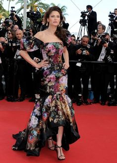 """Bianca Balti attends the """"Lawless"""" Premiere during the 65th Cannes Festival at Palais des Festivals on May 19, 2012 in Cannes, France."""