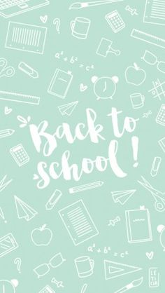 Back to school cute wallpaper for iPhone, Smartphone, Tablets ....