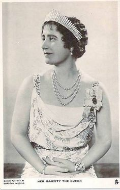 """Queen Elizabeth of Britain """"Queen Mum"""" nee Lady Bowes-Lyon 1900 – 2002 