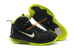 online store babd9 798ad half off Nike Tops, Lebron 9 Shoes, Nike Lebron, Black Shoes, Green