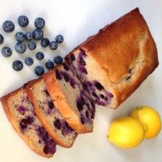 Blueberry Lemon Yogurt Loaf