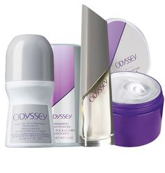 "Four piece Odyssey Collection $9.99 Buy Direct/Free shipping@ http://www.youravon.com/trishadunn email IndianaAvon@yahoo.com SELL AVON!! Low investment, free website, free online training! Use CODE: ""TrishaDunn"" @URL http://www.Start.YourAvon.com"