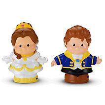 Little People®  Disney Princess Belle & Prince Adam