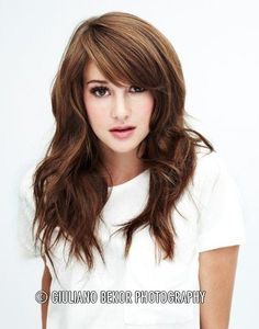 If I were to get a haircut and if I wanted bangs..I would get this style