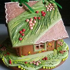 Aussie Bush Gingerbread House.