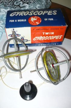 Antique Toys Price Guide..i think we put the gyroscope in the stand pulled a string and it would go wizzing off over the floor...mar16