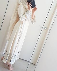 × Source by The post × appeared first on Fancy. Islamic Fashion, Muslim Fashion, Modest Fashion, Fashion Dresses, Modest Wear, Modest Outfits, Hijab Outfit, Abaya Mode, Muslim Dress