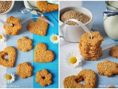 Sezamové sušenky Something Sweet, Cooking Tips, Paleo, Cereal, Almond, Cookies, Breakfast, Recipes, Food