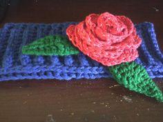 Rose earwarmer