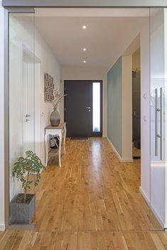 #flur #eingangsbereich #haustür #diele #weberhaus #fertighaus