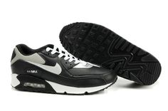 36b25afb6610d Buy New 309299 908 Nike Air Max 90 Black Metallic Silver White from  Reliable New 309299 908 Nike Air Max 90 Black Metallic Silver White  suppliers.