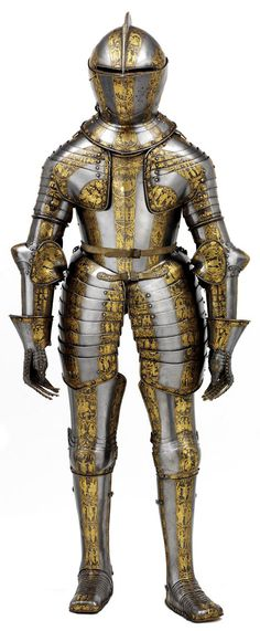 Prince Henry's Armour, c. 1608. Image courtesy of the Royal Armouries and via www.npg.org.uk.