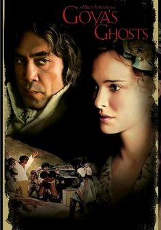 Goya's Ghosts (2006) Although he's initially favored by royalty, Spanish painter Francisco Goya (Stellan Skarsgård) is targeted by the Spanish Inquisition when he paints young Inés (Natalie Portman), whom the church views as a heretic, in this epic true story from Oscar-winning director Milos Forman. Years later, Inés is released from the dungeon and requests Goya's help in finding the daughter she bore while imprisoned. Javier Bardem and Randy Quaid co-star.