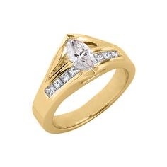 17095 Classic Engagement Rings, Or Rose, Fine Jewelry, Diamond, Metal, Silver, Gold, Diamonds, Metals