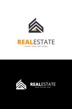 Real Estate Business Logo Template #69205