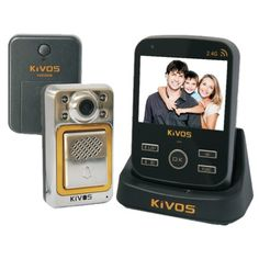 Special Offers - KIVOS KDB300M-4 Wireless Video Door Phone Viewer for Apartment with DVR Function (1 Outdoor Camera 1 Indoor Monitor) with US Plug  Black - In stock & Free Shipping. You can save more money! Check It (April 09 2016 at 11:09AM) >> http://bestmotionsensor.net/kivos-kdb300m-4-wireless-video-door-phone-viewer-for-apartment-with-dvr-function-1-outdoor-camera-1-indoor-monitor-with-us-plug-black/