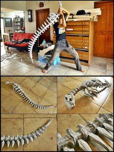 Bone wolf sword by carlosdouglas.deviantart.com on @DeviantArt
