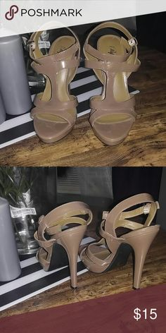 Tan strappy heels Must have shoes Shoes