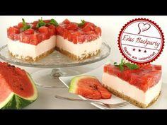 Wassermelonentorte / Sommertorte / ohne Backen / Wassermelone / Erfrisch...