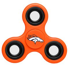 Denver Broncos NFL Spinner These Team Spinners are hand held spinners that will keep your restless fingers busy. The NFL spinners are the newest, hottest item of Great for when you are working or want to play with your friends. Denver Broncos Gear, Denver Broncos Merchandise, Broncos Fans, Oklahoma State Cowboys, Kansas City Chiefs, Dallas Cowboys, Houston Texans, Pro Football Teams, Nfl Jerseys