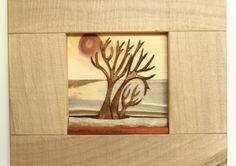 Famiglia di alberi - bassorilievo. artigianato artistico legno  Family trees - italian handicraft (Handmade)