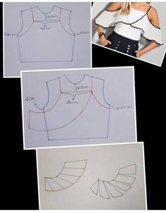 Sewing Ruffles, Dress Sewing Patterns, Blouse Patterns, Clothing Patterns, Sewing Hacks, Sewing Tutorials, Sewing Projects, Blouse Dress, Diy Dress