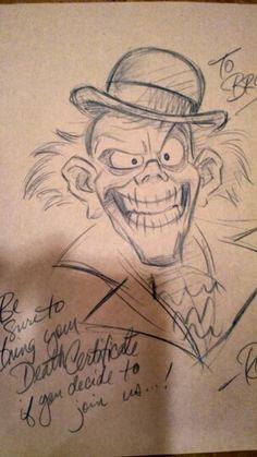 Ezra sketch by Ron Cohee