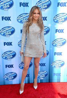 "Jennifer Lopez American Idol judge Jennifer Lopez attends Fox's ""American Idol"" XIII Finale at Nokia Theatre L.A. Live on May 21, 2014 in Lo..."