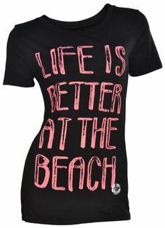 $18.98 ROXY - Roxy Girls Tee Shirt - Better at the Beach #Clothes
