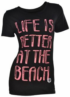 $18.98 ROXY - Roxy Girls Tee Shirt - Better at the Beach #Clothes