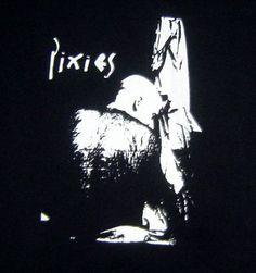 The Pixies band LP album punk retro t-shirt S-3XL Black cotton printed FAST SHIP