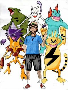 Rafa team pokemon