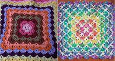 Free pattern – Beautiful Shells Blanket