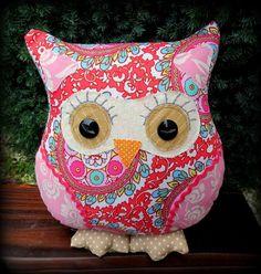 Moondance, a 24cm tall owl cushion. £18.00
