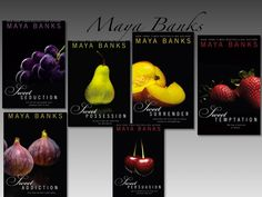"""Maya Banks """"Sweet series"""" LOVED it! I a had all 6 books read in just a couple weeks! Book Nerd, Book Club Books, Book Lists, Book Series, Books To Read, Crossfire Series, Maya Banks, Best Authors, Romance And Love"""