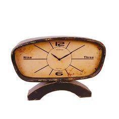 Metal Table clock by VIP International