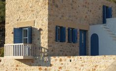 New stone house in Tilos-Greece.