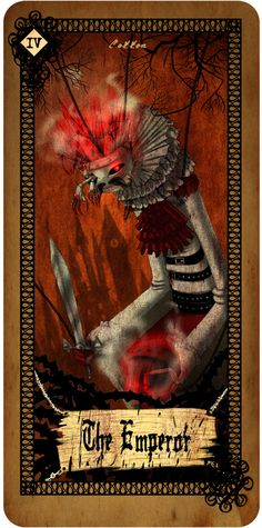 Tarot card - The Emperor | Cotton's Blog