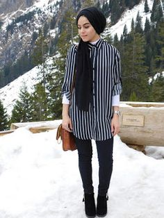 Maryam Rana: The one with Pinstripes and Mountains